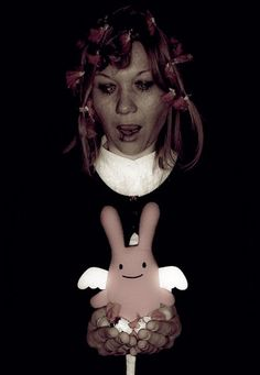 ange lapin and friend