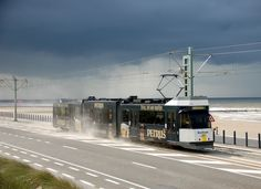 Trams of Europe: Kusttram (Coast Tram) Belgium (longest tramline in the world) Light Rail, Public Transport, Transportation, Europe, City, World, Coaches, Google, The World