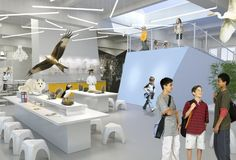 The newest school system in Sweden looks more like a really, really cool children's museum than a collection of traditional classrooms.