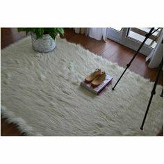 Alfombra/carpeta Rectangular - Piel Sintética Pelo Largo - $ 1.050,00 en MercadoLibre