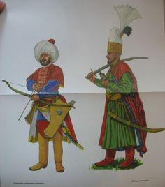 Cavalryman & Janissary officer, XVII c.