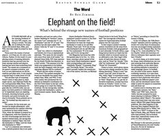 How Sam, Mike, and Will became football positions. The logic of the game's strange new nicknames. (Sep. 9, 2012) http://b.globe.com/nflbz
