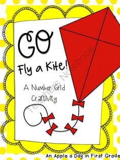 Go  Fly a Kite!  Number Grid activity from An Apple a Day in First Grade on TeachersNotebook.com -  (7 pages)  - In this fun activity, students will use their place value and number grid skills to put together a fun, spring kite!