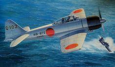 Mitsubishi A6M3 Zero Fighter Model 32 'Hamp' (Hasegawa box art)