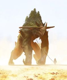 Discover more of the best Fantasy, Golem, Rpg, Illustrations, and Illustration inspiration on Designspiration Concept Art World, Fantasy Concept Art, Creature Concept Art, Fantasy Artwork, Creature Design, Fantasy Rpg, Alien Concept, Monster Design, Monster Art