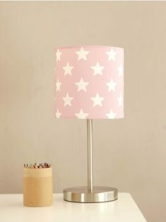 Pink star lamp