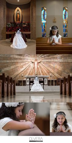 Communion portraits| St Matthew Catholic Church| San Antonio, TX.