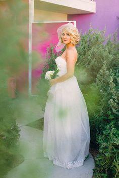 indie bride look Dress by Claire La Faye