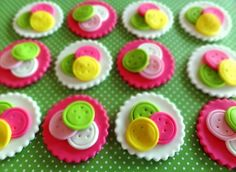 12 Fondant edible cupcake/cookie toppers  any of by TopCakeDecors, $21.00