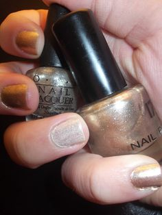 OPI and 17 Golden shades
