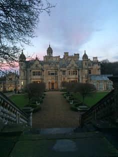 All things Europe — Harlaxton Manor, England (by Josh Baty) Beautiful Castles, Beautiful Buildings, Beautiful Places, English Manor Houses, English Country Manor, English House, English Countryside, Old Money, Dream Home Design