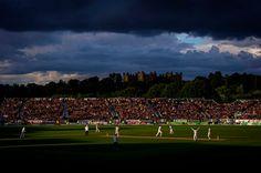 Happier times. England win the 4th test match v Australia, Durham. 12/8/13