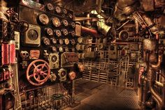 Battleship, Engine Room, Historic