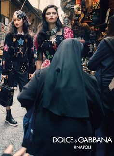 Dolce & Gabbana Fall/Winter 2016-2017 Campaign - Bianca Balti, He Cong, Sasha Kichigina - Domenico Dolce