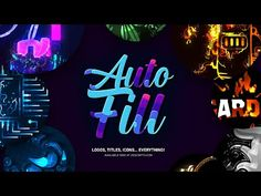 (69) AutoFill for After Effects - YouTube After Effects, Motion Design, Revolutionaries, Save Yourself, Neon Signs, Templates, Youtube, Masking, Tutorials