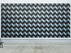Acoustic Wood Wool Tiles BAUX ACOUSTIC PARALLELOGRAM by BAUX design Form Us With Love