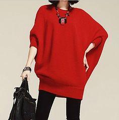 Women's Batwing Sleeve Sweater