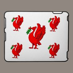 Liver bird of Liverpool. ipad cases by ccrcats.