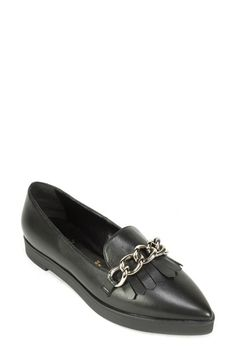Summit by White Mountain 'Elena' Fringed Platform Loafer (Women) available at #Nordstrom