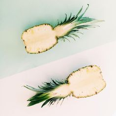 pineapple cross section + gorgeous color palette inspiration