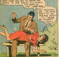 "teenytinycornteeth: ""Love it, love it, Love it forever. Thanks to comicallyvintage for directing me to THE CHICAGO SPANKING REVIEW"" You're welcome. But however did we miss out on posting this gem from there? Bad comicallyvintage, bad!"