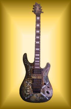 Guitarra CORT KX-5 FR-CQ