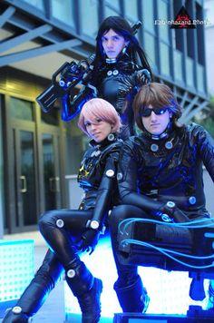 Future, Futuristic, Cyberpunk, Cosplay, GANTZ Group Shooting, Cyber Style, Cyberpunk Fashion, Futuristic Clothing, Latex, Fetish, Cospaly Costume