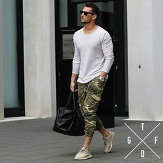 ______________________________________ @sandro IS thatguyfromdowntown  Follow him for more great posts❗ ____________________ Camo  ____________________ For more fashion: @streetfashionchannel  @real.climax @blvckxculture @ascension_fashion_promotion