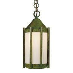 "Arroyo Craftsman Inveraray 1 Light Outdoor Hanging Lantern Size: 10.5"" H x 5"" W, Finish: Bronze"