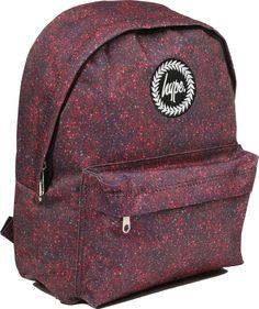 Hype-Backpack-Rucksack-Bag-Black-Burgundy-Navy-Blue-Speckled-Galaxy