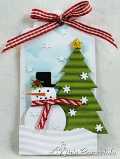 Love this little Christmas tag for those special gifts.
