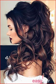 Curly Wedding Hairstyles for 2018