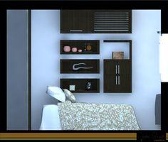 Mobiliario interior - espacio de trabajo en dormitorio
