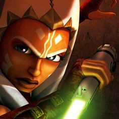 Ahsoka Tano Totally kicks Ass! (This is what happens when you leave Pintrest up on your computer. The fiance hacks your account!)