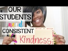 This school year remember that ALL students need KINDNESS!
