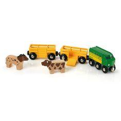 Train Brio : Train des animaux de la ferme - Brio-33404