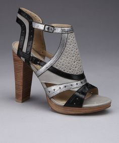 Take a look at this Gray Mickey Sandal  by Lovely People on #zulily today!