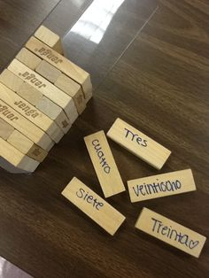 Jenga and Uno for review- interesting idea and looks like a great blog.