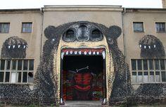 IBUg, un festival street art rugissant à Limbach-Oberfrohna en Allemagne !© Robby Schulze #momondo