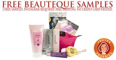 Free Samples from Beauteque Skincare