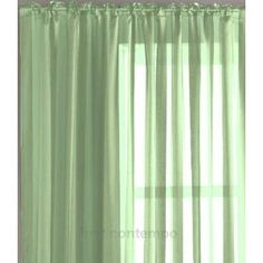Mint green voile curtains - Mint green kitchen curtains ...