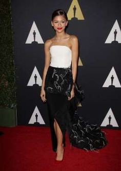 Zendaya Coleman arrives at the Governors Awards at the Loews Hollywood Hotel in Hollywood, Calif., on Nov. 8, 2014.