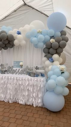 Baby Shower Decorations 579205202060493920 - Large balloon garland for boy baptism Source by Baptism Party Decorations, Baby Shower Decorations For Boys, Boy Baby Shower Themes, Baby Shower Balloons, Baby Boy Christening Decorations, Baby Shower For Boys, Elephant Baby Shower Centerpieces, Its A Boy Balloons, Baby Shower Backdrop