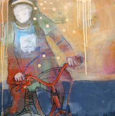 VARM ASVALT BY ANNE-BRITT KRISTIANSEN  #fineart #art #painting #kunst #maleri #bilde  www.annebrittkristiansen.com/anne-britt-kristiansen-kunst-2012 Paintings, Fine Art, Art, Photo Illustration, Paint, Painting Art, Painting, Visual Arts, Portrait