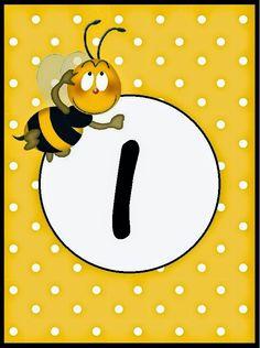 BulutsMom: Arı Temalı Doğum Günü Banner Harfleri Abc Letra, Grande Section, Spelling Bee, Bee Party, Bee Theme, Monogram Alphabet, Initials, Clip Art, Letters