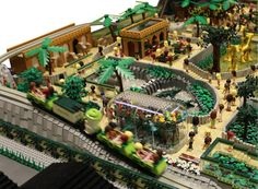 Fabulous LEGO Friends Custom Creation: Animal Park and Holiday Center