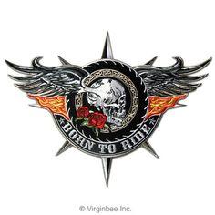 http://bikeraa.com/ads/born-to-ride-big-winged-skull-flaming-wings-tattoo-biker-jacket-rider-vest-patch/