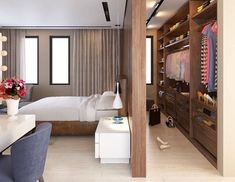 4 super idea of walk through closet behind bed 2019 4 super idea of walk through closet behind bed The post 4 super idea of walk through closet behind bed 2019 appeared first on House ideas. Bedroom Closet Design, Closet Designs, Home Bedroom, Modern Bedroom, Trendy Bedroom, Bedroom Designs, Bedroom Small, Modern Closet, Bedroom Furniture