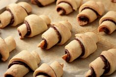 Marzipan Chocolate Rugelach