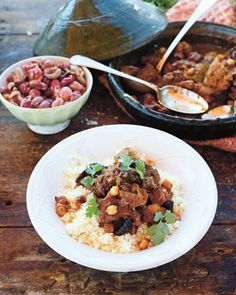 Beef Tagine (this dish is simply divine! the taste is really different and there are so many layers to it. this recipe i will use again for sure. only improvement i can think of is to cut the squash a bit thinner)